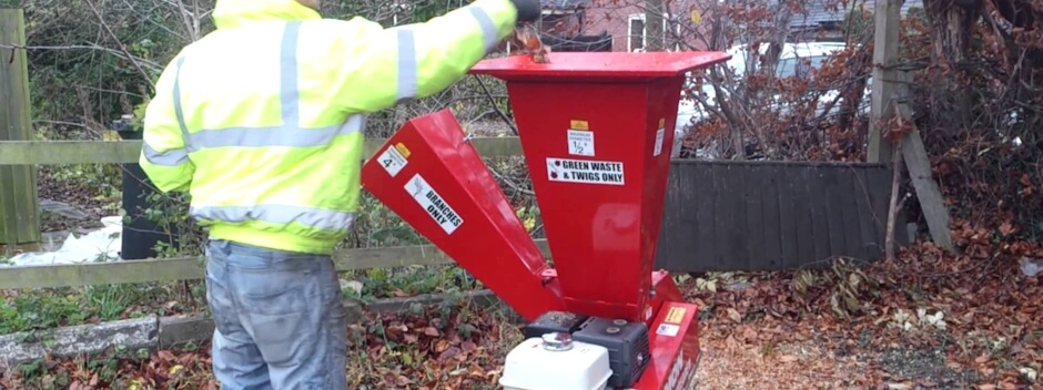 Chipper shredders for Gardening tools for hire
