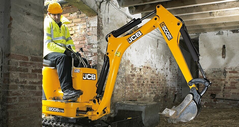 Mini Digger Hire Pontefract | National Tool Hire Shops