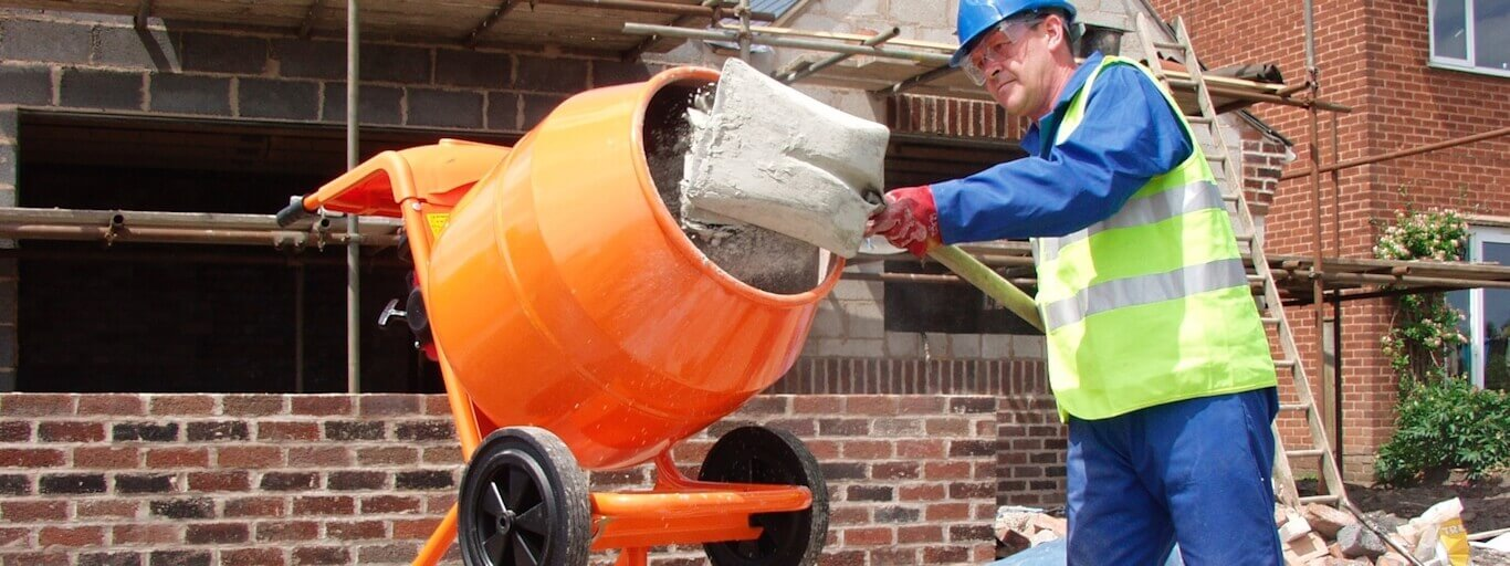 Cheap Concrete Mixer Hire