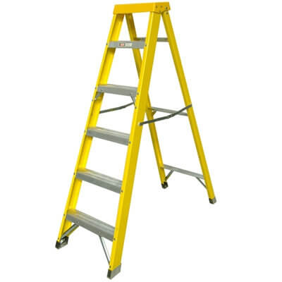 Fibreglass Stepladder - 8 Tread