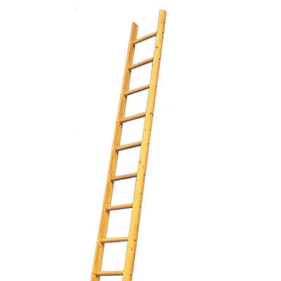 Timber Wooden Pole Ladder 15 Rung 4m Hire National