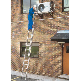 Double Push-Up Extension Ladder - 4.2m