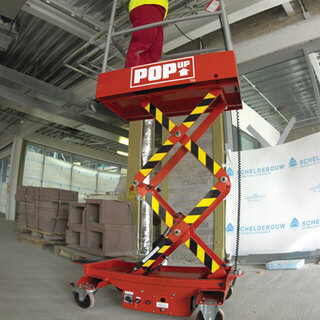 Pop Up Low Level Access Platform