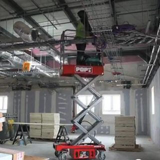 Pop Up Push 8 Micro Scissor Lift - 4.5m