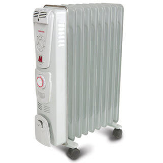Oil Filled Radiator - Electric