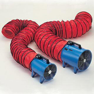 Fume Extractor Ducting - 100mm