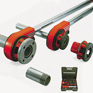 Ratchet Pipe Threader - 1/2in to 2in