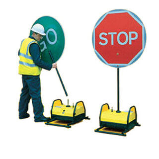 Stop & Go Sign - Swivel