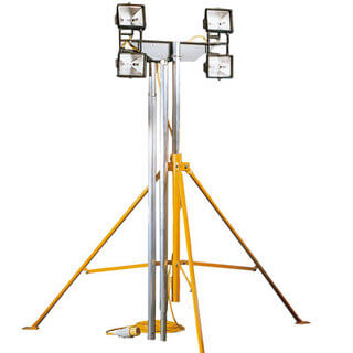 Lighting Mast - 4x 500w