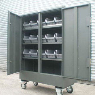 Fittings Cabinet with Storage Bins