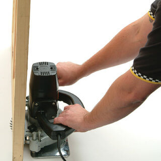 Door Trimming Saw - Electric