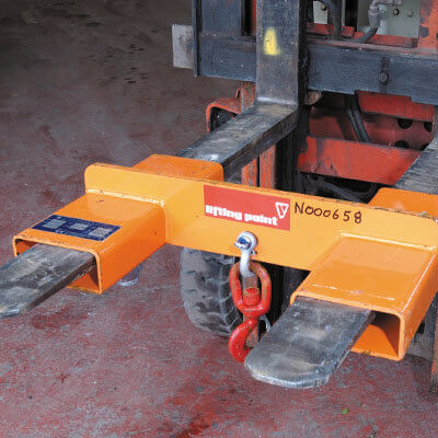 Truck Lift Shops >> Fork Lift Hook Attach - 2T Hire | National Tool Hire Shops