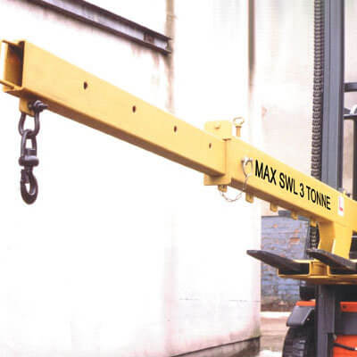 Fork Lift Jib - 3T Adjustable