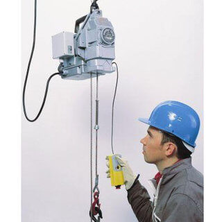 Power Wire Rope Hoist - 300Kg