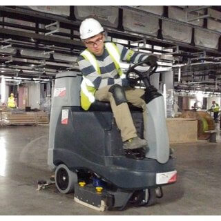 Nilfisk BR755 Scrubber Dryer - Ride On