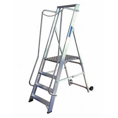 Extra Wide Step Ladder Hire
