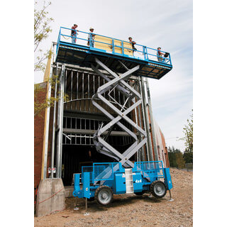 Genie GS3390RT Rough Terrain Scissor Lift - Diesel