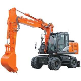 Wheeled Digger / Excavator 18T