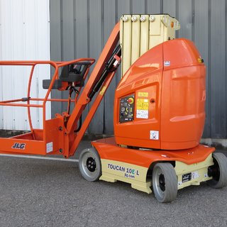 JLG T10E Toucan Mast Boom Lift - Electric (10m)
