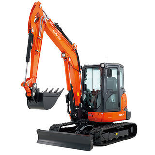 Compact Tracked Digger / Excavator 5.5T