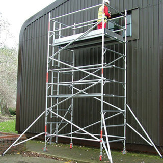 5.7m Handrail Narrow Tower 2.5m Deck