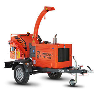 Road Towable Wood Chipper