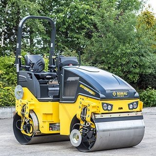 Bomag 120 Ride On Roller - 1200mm - Diesel