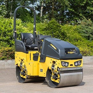 Bomag 80 Ride On Roller - 800mm - Diesel