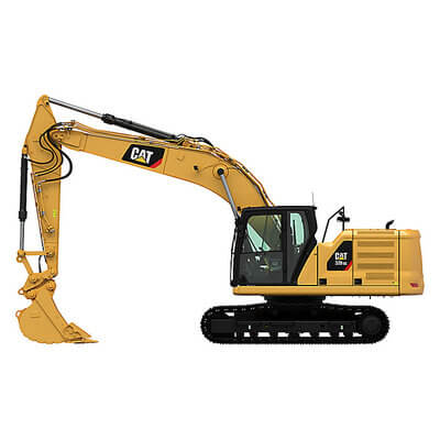 21T Tracked Digger / Excavator Hire | National Tool Hire Shops