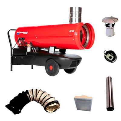Marquee Heater Hire Package