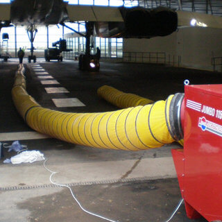 24in x 8m Jumbo 115 Ducting