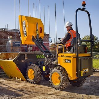 Narrow Dumper / Skip Loader - Diesel