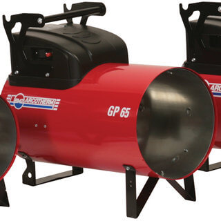 Large LPG Gas Space Heater (Dual Voltage) 32kW-66kW