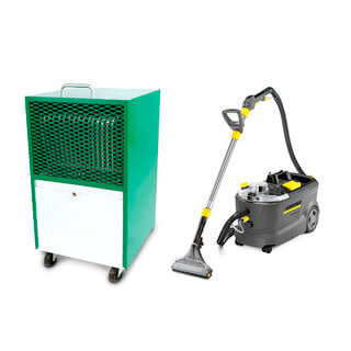 Carpet Cleaner & Dehumidifier Package