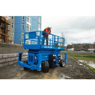 Genie GS4390RT Rough Terrain Scissor Lift - Diesel