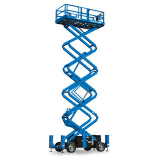 Genie GS5390RT Rough Terrain Scissor Lift - Diesel