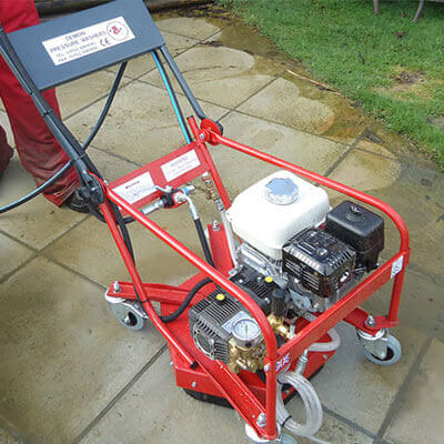 Demon hurricane p2 patio washer cleaner hire for Driveway pressure washer