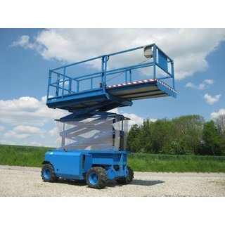 Genie GS2668RT Rough Terrain Scissor Lift - Diesel