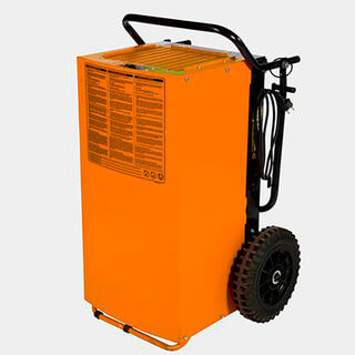 Large Portable Industrial Dehumidifier - 240v