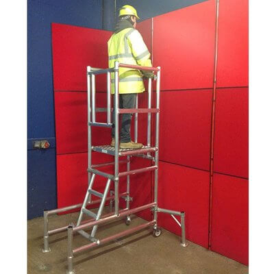 podium step hire