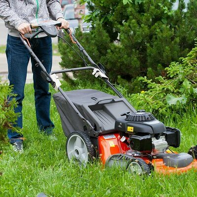 Rotary Lawn Mower - Self Propelled - Petrol