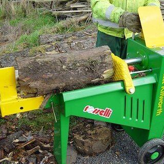 Log Splitter - Hydraulic - Electric