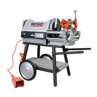 Ridgid 1224 Pipe Threading Machine (6mm - 100mm)