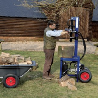 Log Splitter - Hydraulic - Petrol