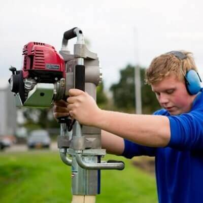 Powered Post Driver / Post Knocker - Petrol