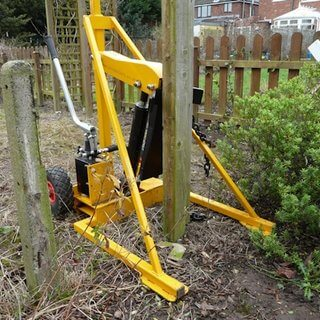 Fence Post Puller / Remover - Hydraulic