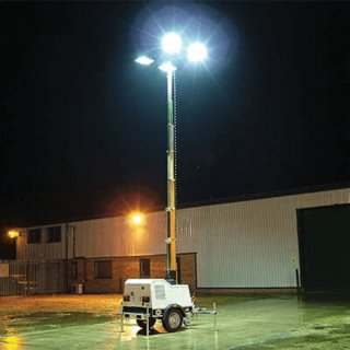 Diesel Lighting Tower (Road Tow)