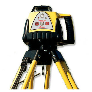 Leica Rugby 100 Exterior Rotary Laser Level