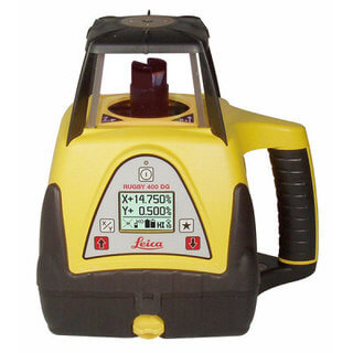 Leica rugby 400 Dual Grade Rotary Laser Level