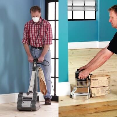 Floor Sander & Edging Sander Package